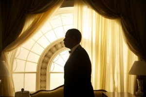 Cecil Gaines (Forest Whitaker) within his second home - the White House - in The Butler
