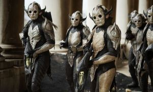 The Dark Elves invade Asgard in Thor: The Dark World
