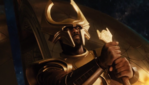 All-seeing, all-hearing Heimdall (Idris Elba) in Thor: The Dark World