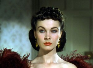 Scarlett O'Hara (Vivien Leigh) in Gone With The Wind
