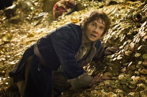 There's trouble brewing for Bilbo (Martin Freeman) in The Hobbit: The Desolation Of Smaug