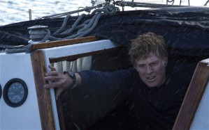 The full scale of the problems for Robert Redford's unnamed protagonist emerge in All Is Lost