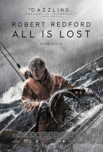 All Is Lost is cinema in its purest form, a visual poem of hope, despair, strength and weakness that will wash over you like a warm tide