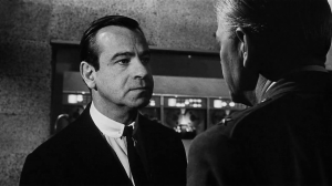 The detestable Professor Groeteschele (Walter Matthau) coldly rationalises nuclear war in Fail Safe