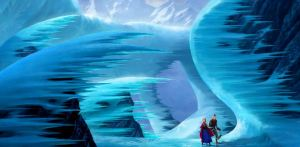 The sumptuous visuals in Frozen