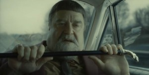 The Dr John-alike obnoxious jazz muso Roland Turner (John Goodman) in Inside Llewyn Davis