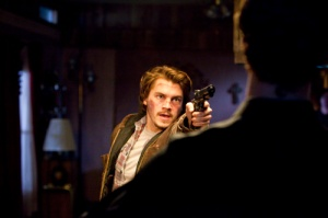 Dumb Chris (Emile Hirsch) makes a play too far in Killer Joe
