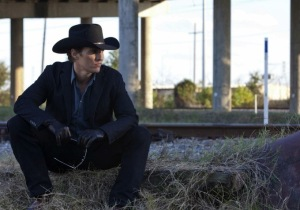 'Angel of death' Joe Cooper (Matthew McConaughey) in Killer Joe