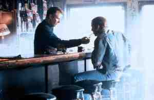 "Michael Williams (Nicolas Cage) fools bar owner Wayne Brown (J.T. Walsh) he's ""Lyle from Dallas"" in Red Rock West"