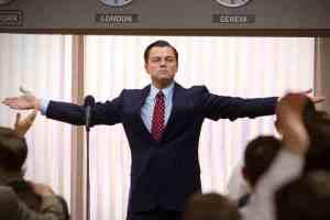 The best of times... stockbroker-turned-rock star Jordan Belfort (Leonardo DiCaprio) in The Wolf Of Wall Street