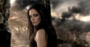The vengeful Artemesia (Eva Green) in 300: Rise Of An Empire