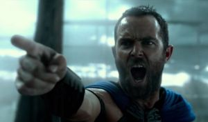 Heroic Greek leader Themistocles (Sullivan Stapleton) in 300: Rise Of An Empire