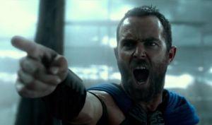 Heroic Greek leader Themistocles (Sullivan Stapleton) in 300: Rise Of An Empire
