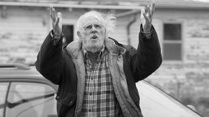 The quietly desperate Woody (Bruce Dern) in Nebraska