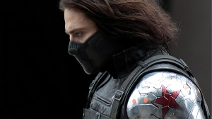 The mysterious Winter Soldier in Captain America: The Winter Soldier