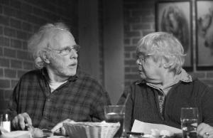 Woody (Bruce Dern) and Kate (June Squibb) squabble in Nebraska