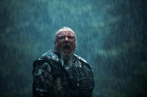 """Take the ark!!"" - Tubal-cain (Ray Winstone) gets mad in Noah"