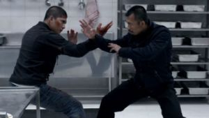 Just one of the jaw-dropping fight scenes in The Raid 2