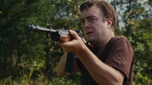 Dwight (Macon Blair) puts those gun skills to test in Blue Ruin
