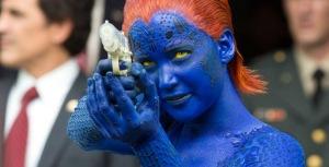 Mystique (Jennifer Lawrence) sets her sights in X-Men: Days of Future Past
