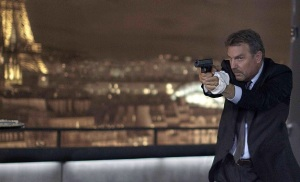 It's an ageing American CIA guy (played by Kevin Costner) in Paris (again) in 3 Days To Kill