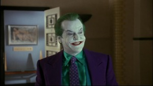 The Joker (Jack Nicholson) hatches another dastardly plan in Batman