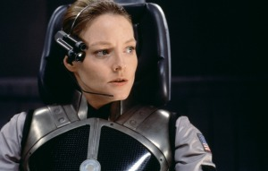 Dr Ellie Arroway (Jodie Foster) prepares for the ultimate trip in Contact