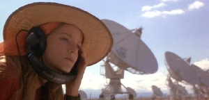 Jodie Foster stars as SETI radio astronomer Dr Ellie Arroway in Contact