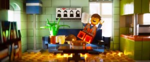 Simple, ordinary Emmet (Chris Pratt) is about to have his world rocked in The Lego Movie