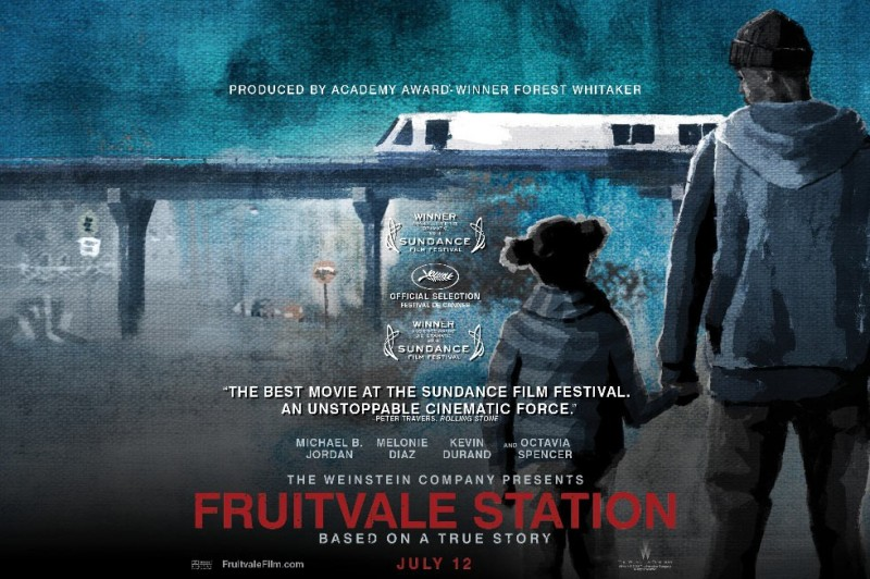 Fruitvale Station Poster   three rows back