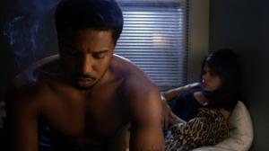 Sophina (Melonie Diaz) faces an awkward moment with boyfriend Oscar (Michael B. Jordan) in Fruitvale Station