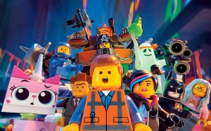 The Lego Movie gang