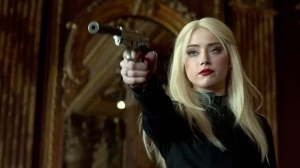 CIA assassin Vivi Delay ('actress' Amber Heard) in 3 Days To Kill