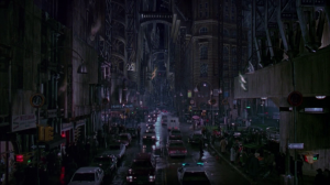 Gotham City, as depicted in Tim Burton's Batman