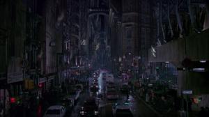Gotham City, as depicted in Tim Burton's Batman