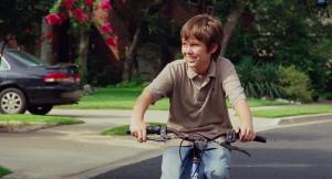 Mason Jnr (Ellar Coltrane) growing up in Boyhood