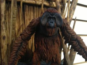 The benevolent Maurice (Karin Konoval) in Dawn Of The Planet Of The Apes