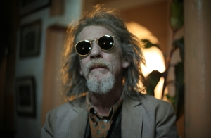Playwright Christoper Marlowe (John Hurt), looking good for 600 (or so)  in Only Lovers Left Alive