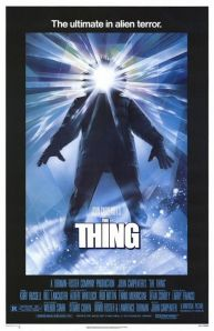 Still thrillingly chilling more than 30 years on, The Thing has rightly earned its place along other classics of horror and remains an eye-popping (and stomach chomping) movie experience