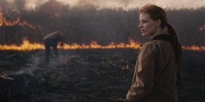 Murph (Jessica Chastain) faces the slow death of Earth in Interstellar