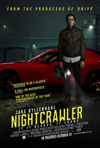 A remarkably assured debut from Gilroy featuring a tour de force performance by Gyllenhaal, the wickedly disturbing Nightcrawler will crawl under your skin and stay there