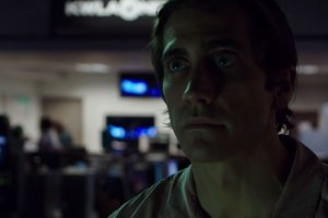 The man who wasn't there... bug eyed Lou Bloom (Jake Gyllenhaal) in Nightcrawler
