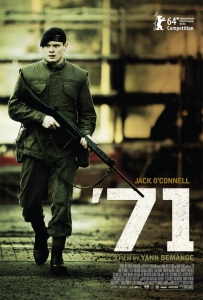 One of the year's most suspensful thrillers, '71 is edge-of-the-seat stuff and another feather in the cap for its leading man