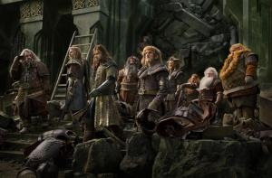 The loyal band of dwarfs prepare for war in The Hobbit: The Battle Of The Five Armies