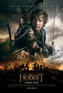 And so we come to the end of Jackson's Middle Earth fellowship. LOTR-lite it may be, but fantasy cinema is all the richer for The Hobbit having been in it