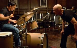 Andrew (Miles Teller) gets the first of many bollockings in Whiplash