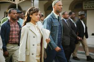 On the march: civil rights supporters get to work in Selma