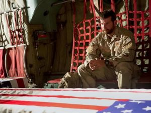The consequences of being a soldier in Iraq takes its toll for Chris Kyle (Bradley Cooper) in American Sniper
