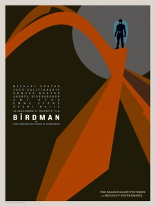 Birdman is a very good piece of work, at times brilliant; I just wish I could have soared with it as much as I'd hoped