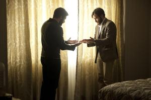 The left hand doesn't know what thr right hand's doing for Adam/Anthony (Jake Gyllenhaal) in Enemy